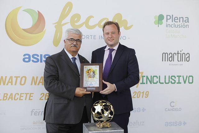 Gala de los premios de la Federación de deportes para personas con discapacidad intelectual de Castilla-La Mancha (FECAM). Foto: Luis Vizcaino/foto@lamanchapress.com