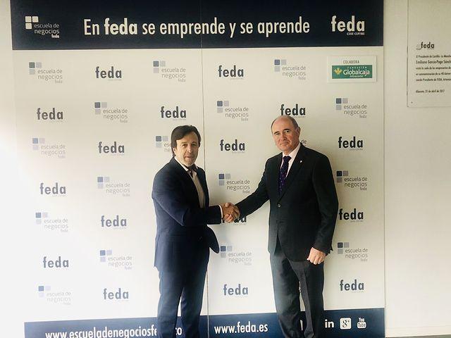 Convenio Fundación Globalcaja-FEDA.