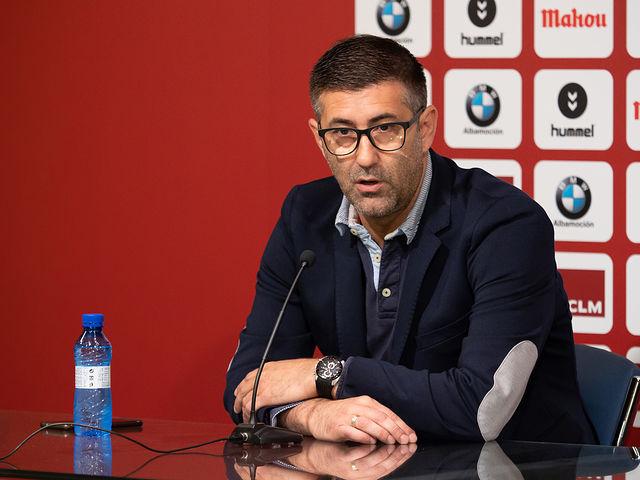 Mauro Pérez, director deportivo del Albacete Balompié