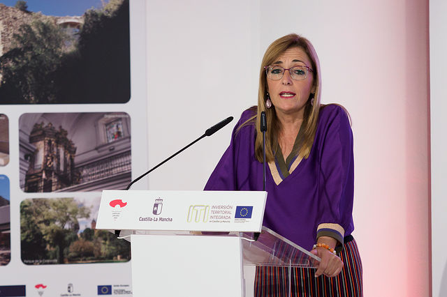 Lola Serrano, delegada provincial de Igualdad. Foto: Manuel Lozano García / La Cerca