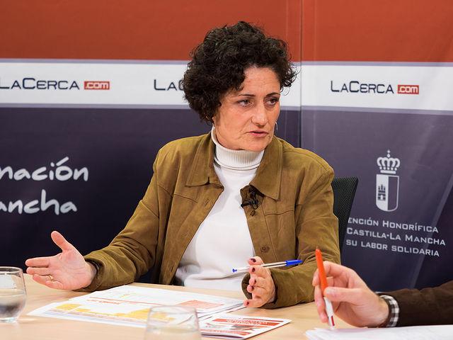 Eva Callejas, coordinadora provincial de Cruz Roja en Albacete