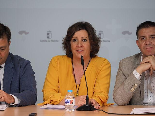 Patricia Franco, consejera de Economía, Empresas y Empleo - Presentación III Feria IMEX CLM.