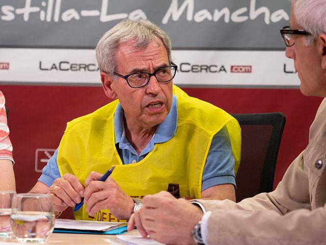 Ramón Martínez, jubilado de Correos