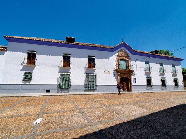 Palacio de los Marqueses de Torremejía, en Almagro (Ciudad Real), hoy Escuela Hogar de las Madres Dominicas.