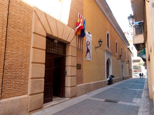 Papercraft building imprimible y armable del Centro Cultural de la Asunción en Albacete, España. Manualidades a Raudales.