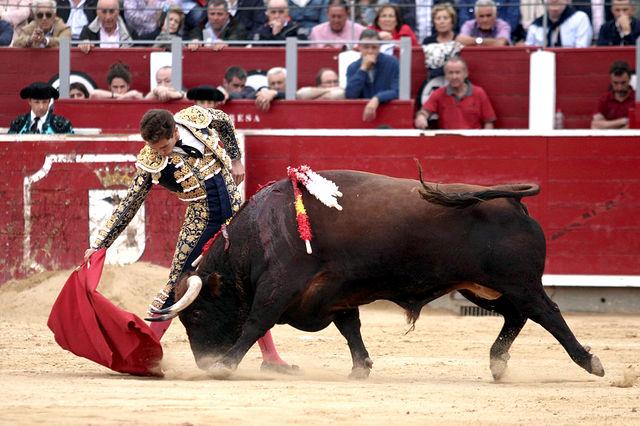Ginés Marín - Feria Taurina Albacete - 11-09-19. Foto María Vázquez.