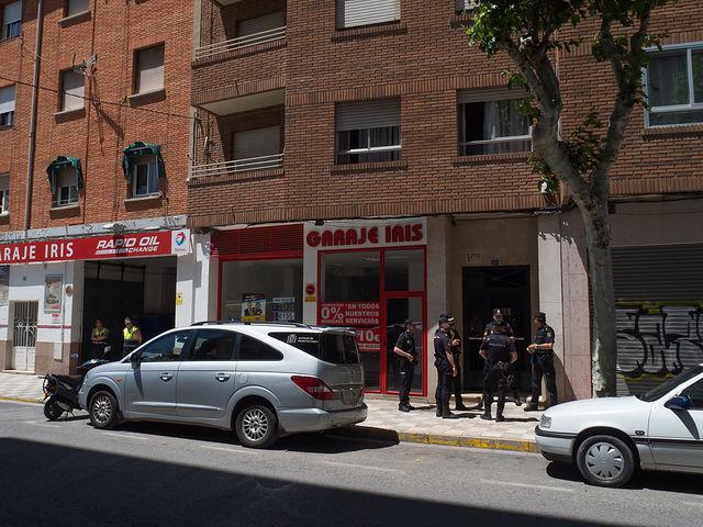Se investiga la muerte de una mujer en la calle Blasco Ibáñez de Albacete