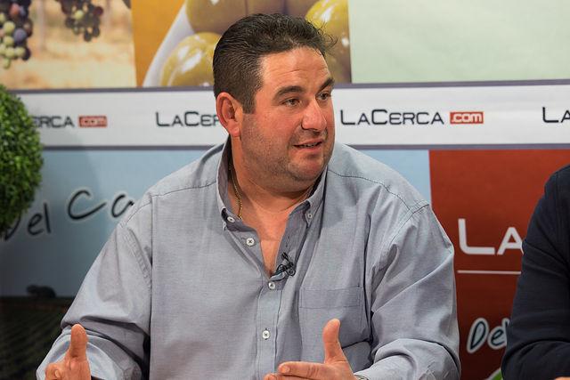 Luis Zornoza, presidente de la Almazara del Campo San José de Ontur