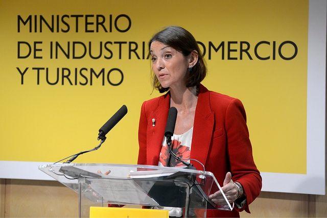 Reyes Maroto, ministra de Industria, Comercio y Turismo.