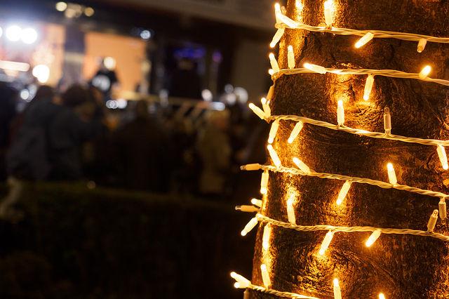 Encendido de las luces de navidad en Albacete. Foto: Manuel Lozano Garcia / La Cerca