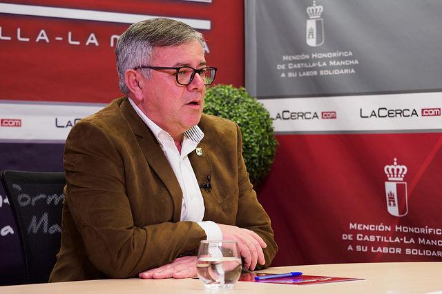 Ramón García, alcalde de Hellín. Foto: Manuel Lozano García / La Cerca