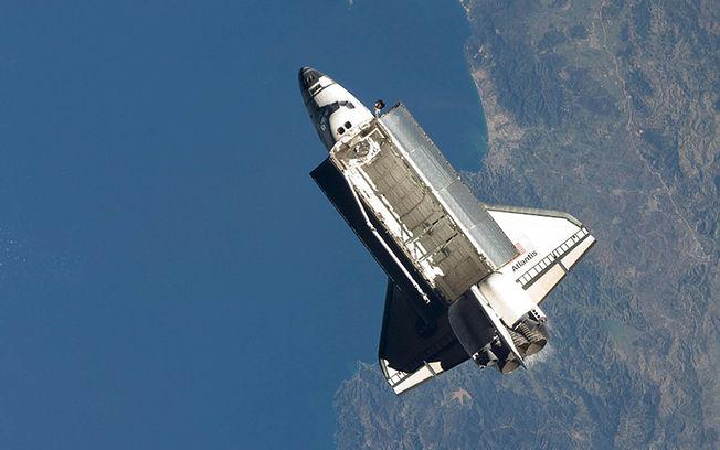 Transbordador espacial.  © pixabay