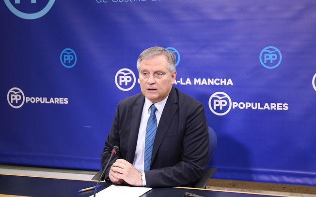 Francisco Cañizares, presidente del Grupo Provincial del Partido Popular en la Diputación de Ciudad Real,