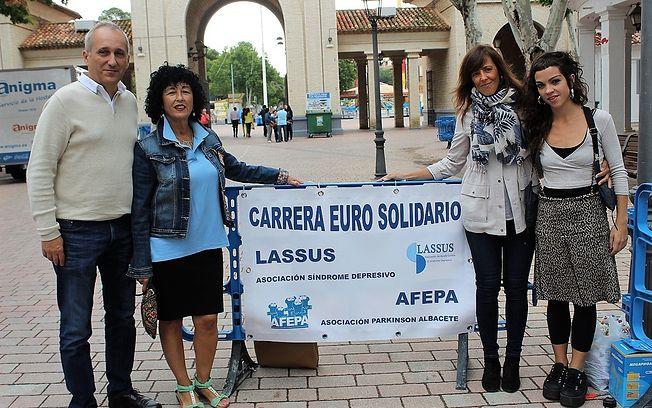 Carrera del Euro Solidario. Asociación Parkinson Albacete.