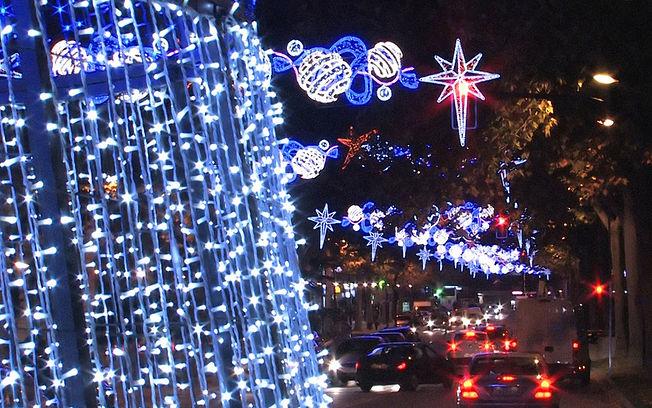 luces de navidad en cuenca: