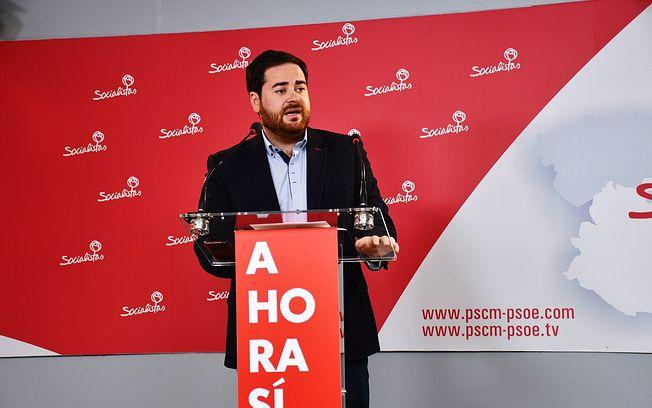 Pablo Camacho, diputado regional del Partido Socialista por la provincia de Ciudad Real.