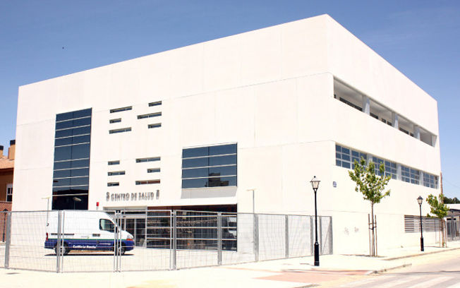 El nuevo Centro de Salud Albacete Zona 1, que comienza hoy a funcionar.
