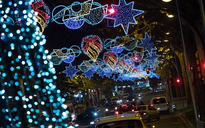 Luces de Navidad en Albacete