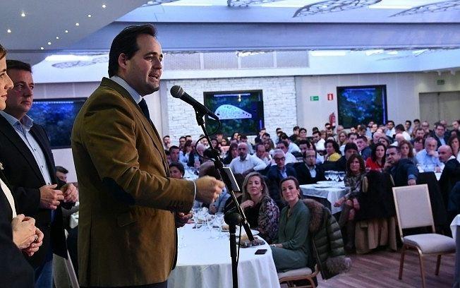 Paco Núñez afirma que gobernar en coalición con la sociedad, junto con el municipalismo y el territorio, son la base del proyecto político del PP-CLM.