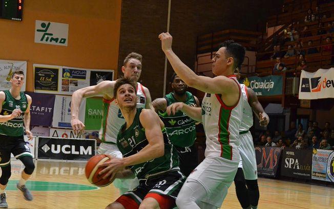 Foto: Albacete Basket. Partido de ida.