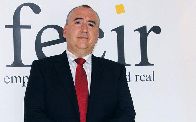 Carlos Marín, presidente de la Federación de Empresarios de Ciudad Real (FECIR)