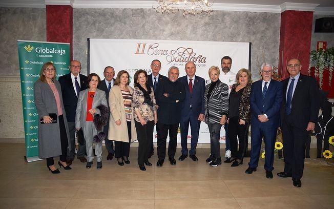 Globalcaja, con Asprona, en la II Cena Solidaria