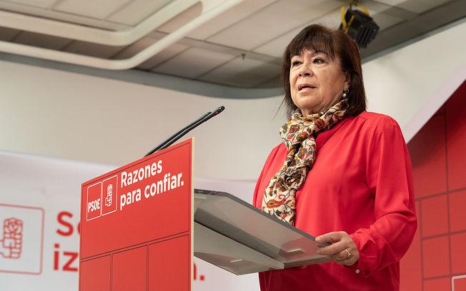 Cristina Narbona en una imagen de archivo.