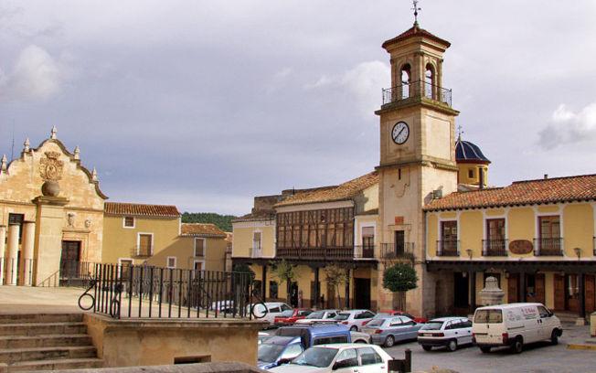 Plaza Mayor de Chinchilla, llamada también De La Mancha