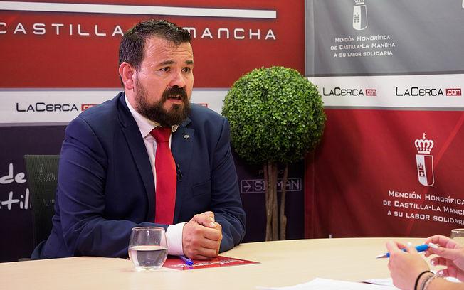 Juan Ramón Amores, director general de Juventud y Deporte en funciones de la JCCM