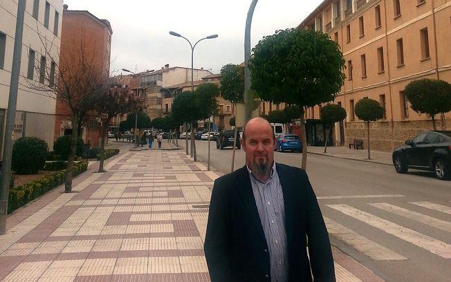 Alfredo Barra en la travesía de Los Adarves