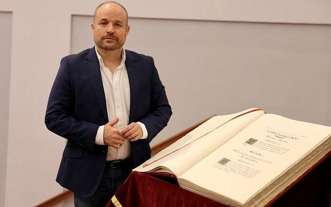 Alejandro Ruiz de Pedro, Presidente del Grupo Parlamentario Ciudadanos.
