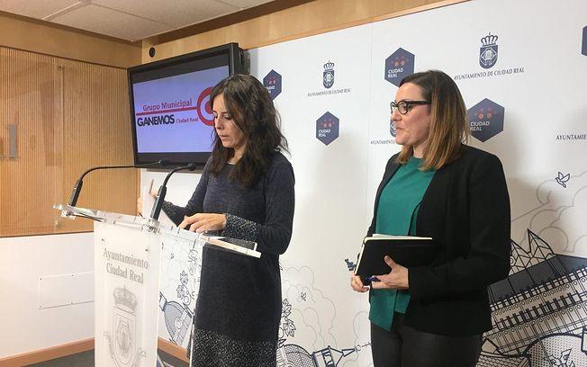 Nieves Peinado y María Díaz.