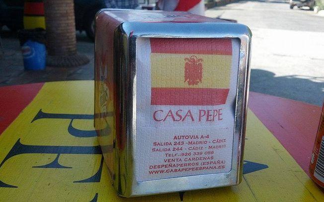 Restaurante Casa Pepe.
