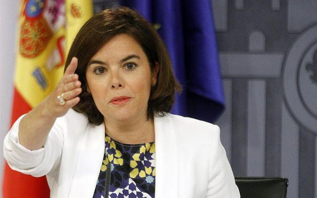 Soraya Sáenz de Santamaría. Archivo.