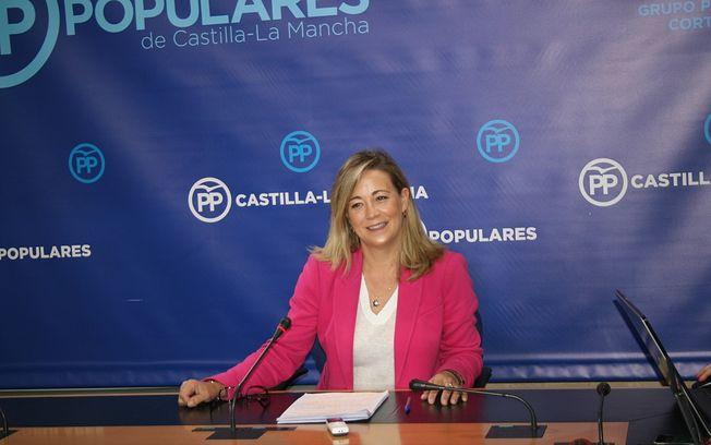 Lola Merino, diputada regional.