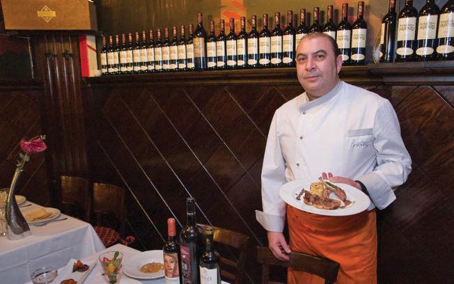 Juan Carlos Ruiz Santana, jefe de cocina del Restaurante Birubi.