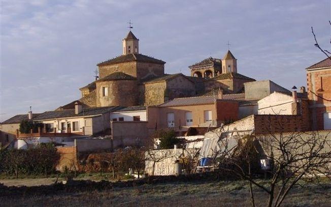 Iglesia Buenache de Alarcón, en Cuenca.