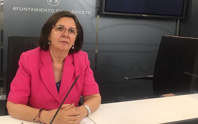 Victoria Delicado, viceportavoz de Ganemos Albacete.