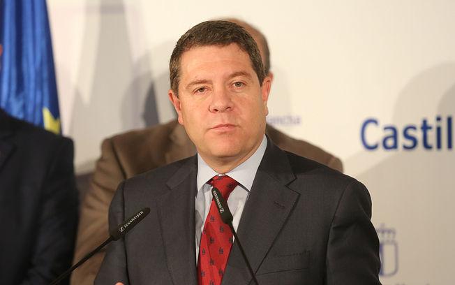 Emiliano García-Page, presidente del Gobierno regional.