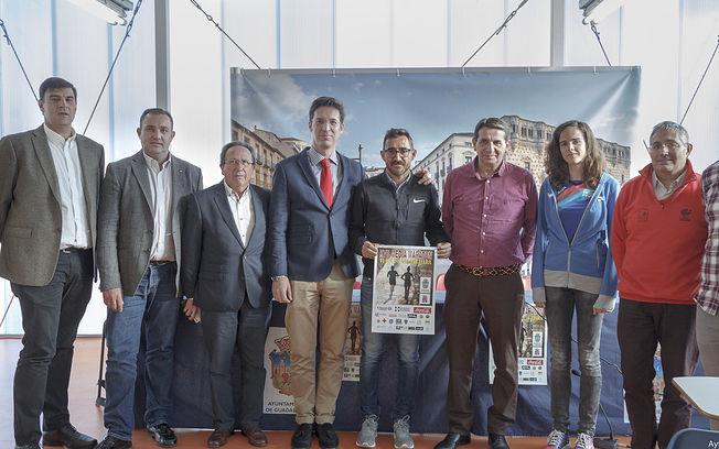 Presentación de la Media Maratón, Club atletismo La Esperanza