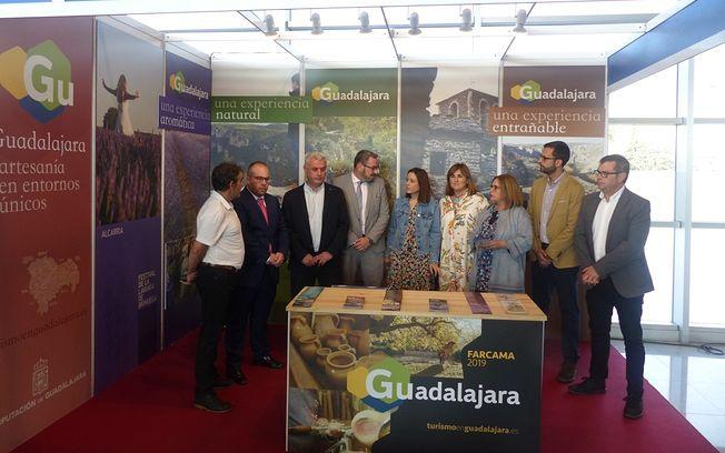Stand Diputación Guadalajara en FARCAMA.