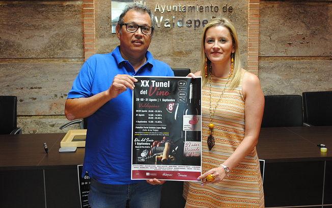 XX Túnel del Vino de Valdepeñas se celebrará del 29 de agosto al 1 de septiembre - Valdepeñas.