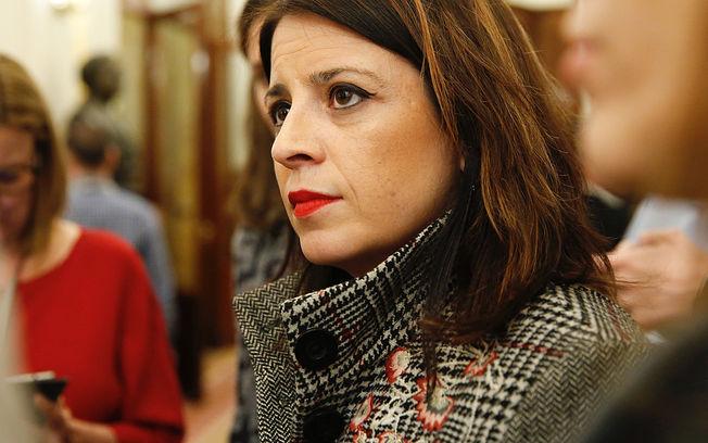 La vicesecretaria general del PSOE y portavoz adjunta del Grupo Parlamentario Socialista, Adriana Lastra