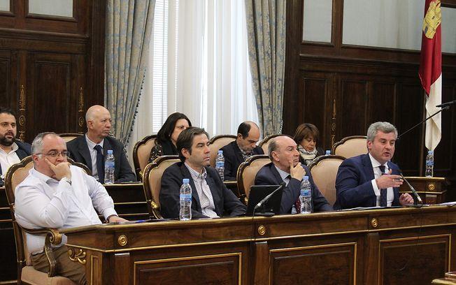 Pleno de la Institución Provincial.