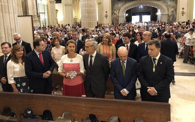 Misa en honor a la Virgen de Los Llanos. Feria de Albacete 2018.