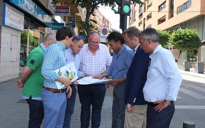 El Ayuntamiento de Albacete atrasará el inicio de las obras de la calle de la Caba para no interferir en el inicio de las rebajas
