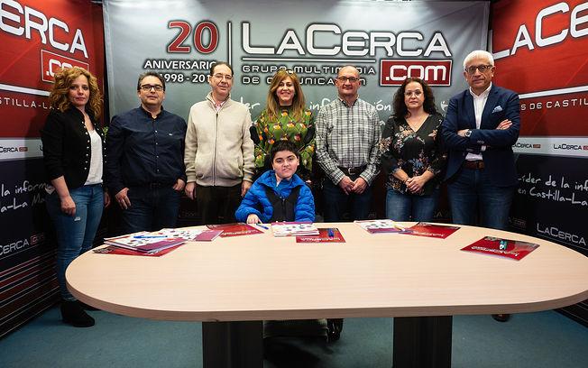 Begoña Martín Bielsa (Presidenta de ASEM-CLM), José Miguel de la Rosa Toledo (Persona afectada), Ana Mª Serrano Villodre (Familiar de afectado) y Javier López Tello, (Miembro de la Junta Directiva y familiar de afectado).
