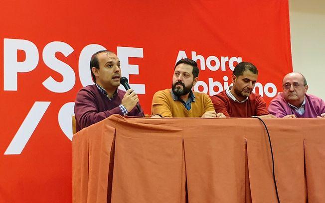 Acto electoral que ha tenido lugar en Brihuega.