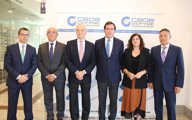 Clausura de la 41º Asamblea general de CEOE-CEPYME Guadalajara.