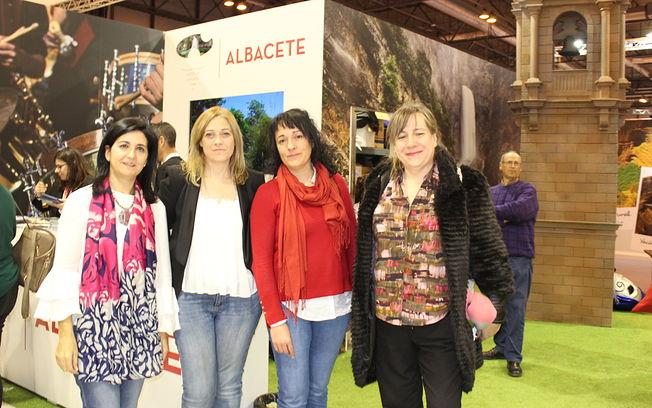 Representación de Cs Albacete en el día de Albacete. FITUR 2019.